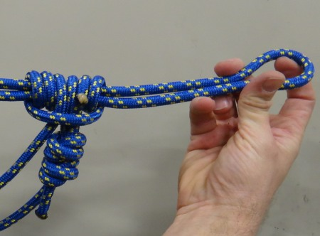 how to make a tightening and loosening knot